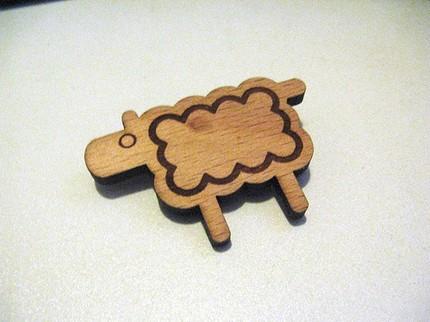 Sheepishbrooch