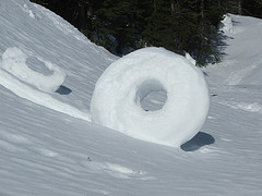 Snowdonut