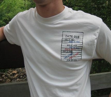 Libraryshirt